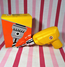 Awesome 1970's Avon Power Drill Decanter Wild Country After Shave + Box FULL - $10.00
