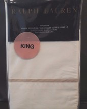 Polo Ralph Lauren Palmer Percale One King Sham New Retail $130 On Tag - $39.55