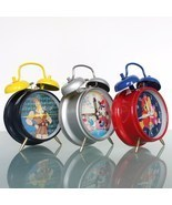 Disney Alarm CLOCK Mantel WIND UP Working Donald Duck Goofy Hercules Win... - $119.00