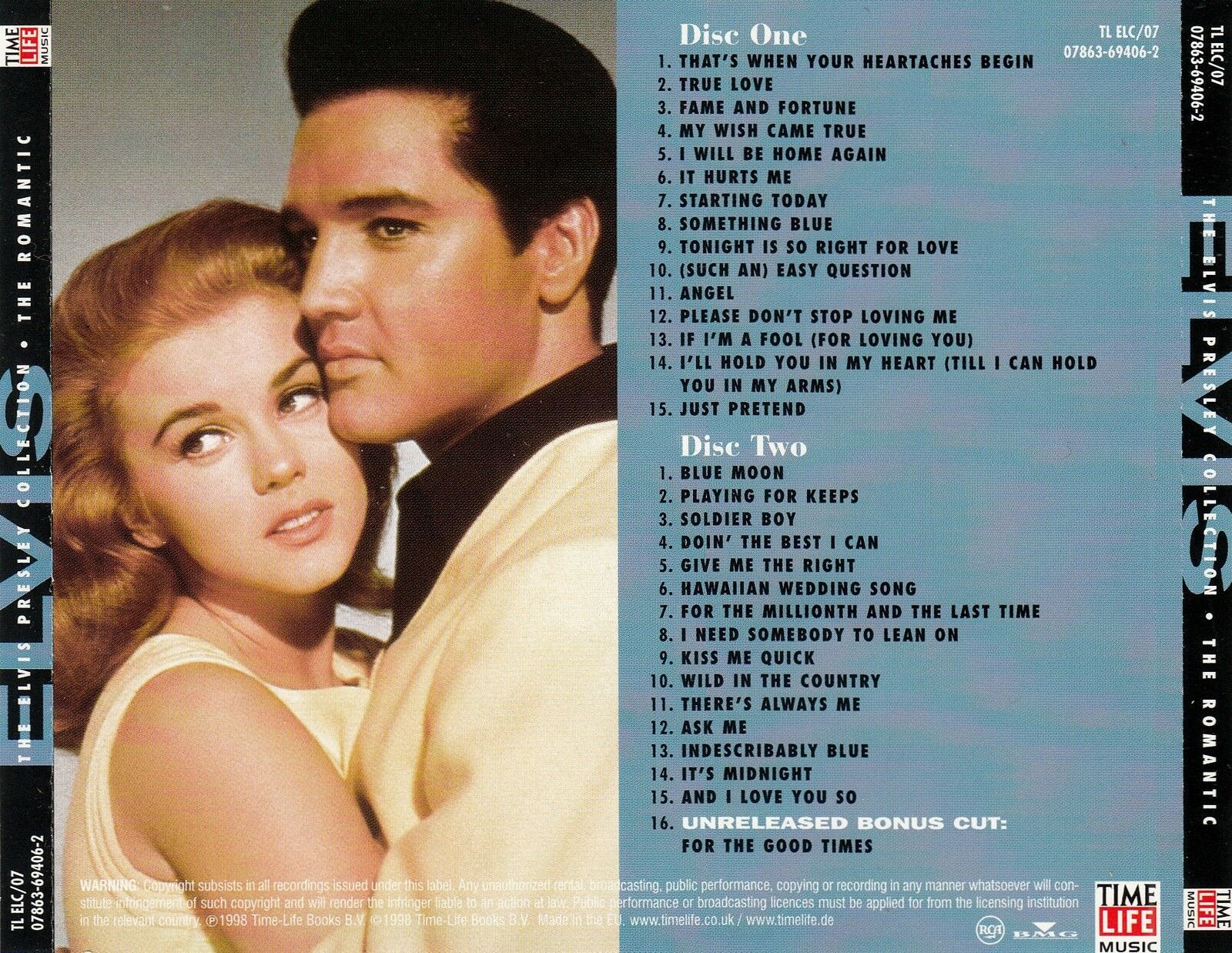 Time Life  (  Elvis Presley The Romantic Collection )