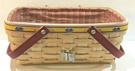 Signed Longaberger Jelly Belly Basket Combo Excellent Condition - $124.01