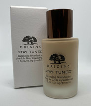 LINEN #03 Origins Stay Tuned Balancing Face Makeup 1oz Full Size NIB A12 - $44.99