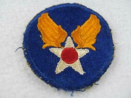 WWII US Army Air Force AAF HQ Patch Blue and Gold Red and White Star - $10.00