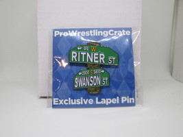 Ritner & Swanson ECW Arena Street Collectors Pin Pro Wrestling Crate WWE... - $25.00
