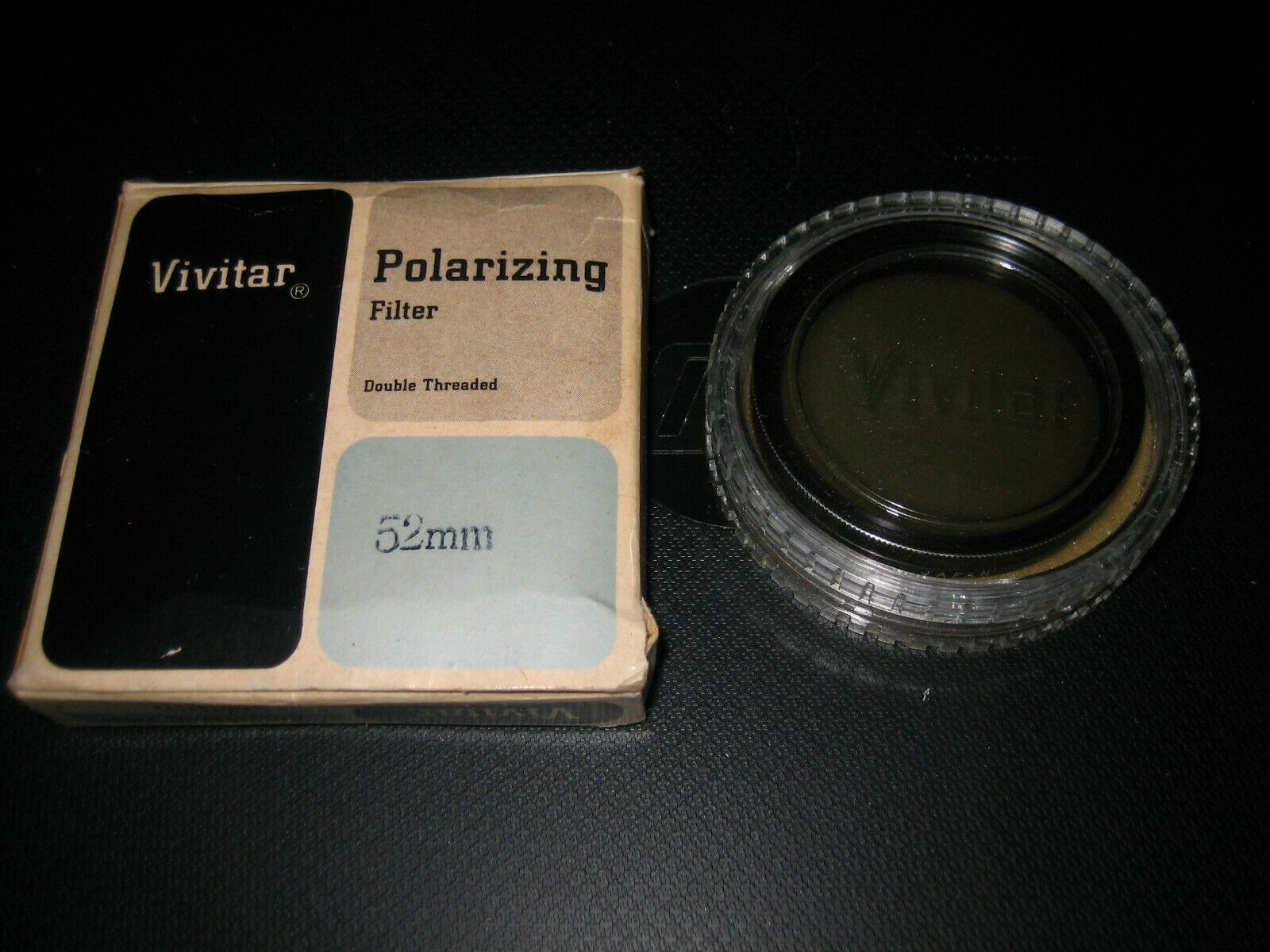 Primary image for Vintage Vivitar 52mm Double Threaded Circular Polarizing Filter Japan 2X 4X