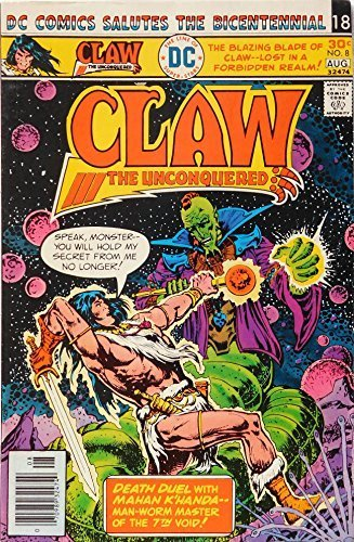 Claw the Unconquered, Vol. 2 No. 8; July-Aug. 1976 [Comic] [Jan 01, 1976] David