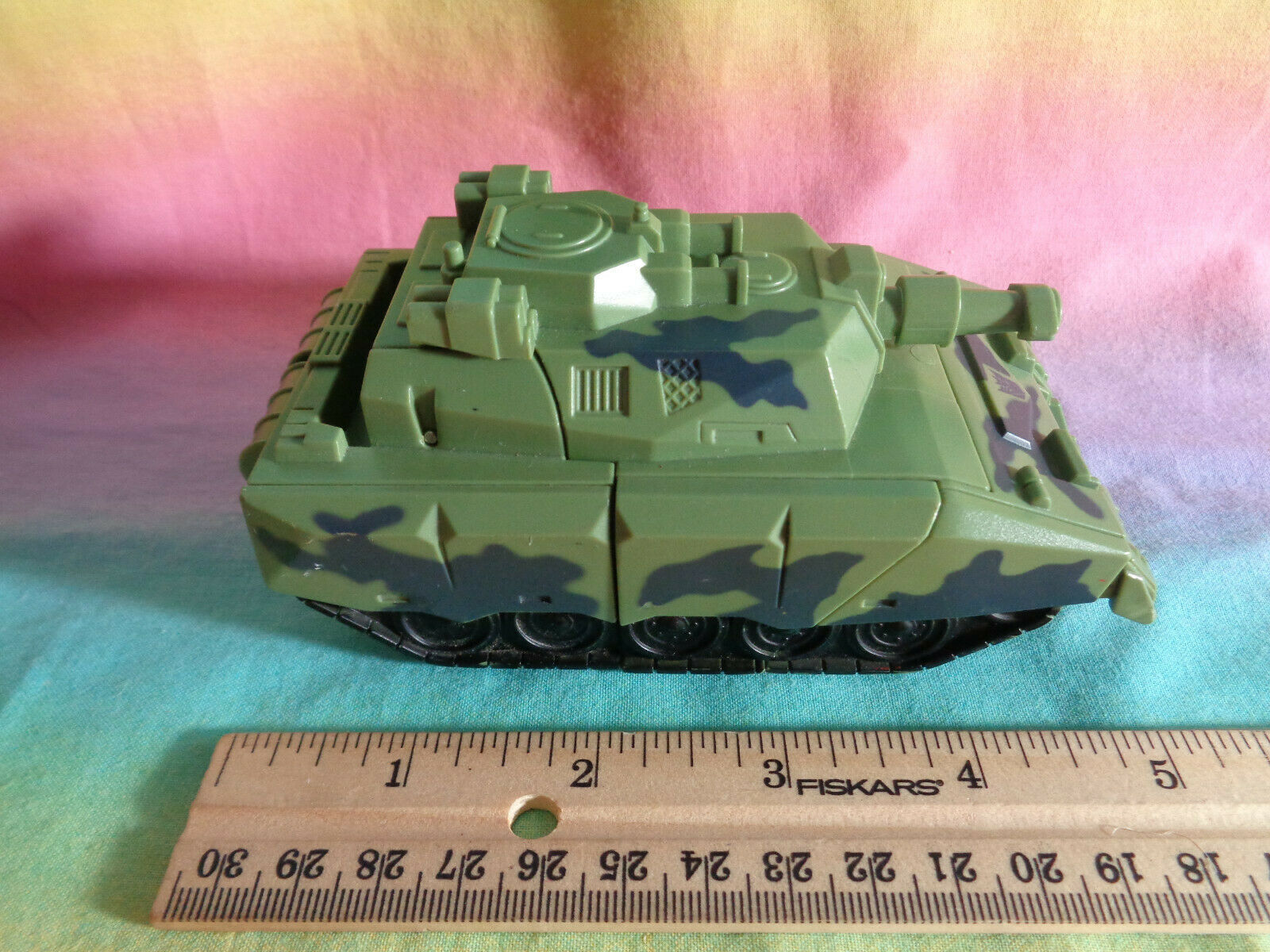 Transformers 2008 Hasbro Green Army Tank Replacement Parts - as is image 8