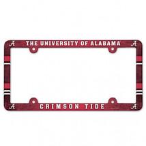 Alabama License Plate Frame Full Color - $9.25