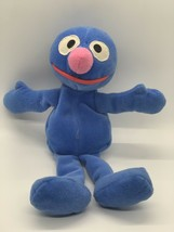 "Tyco Plush Grover Bean Bag Stuffed Sesame Street Blue Doll 8"" Tall - $7.43"