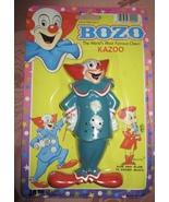 VTG LARRY HARMON'S BOZO THE CLOWN TOY KAZOO NEW IN PACKAGE NIP - £10.86 GBP