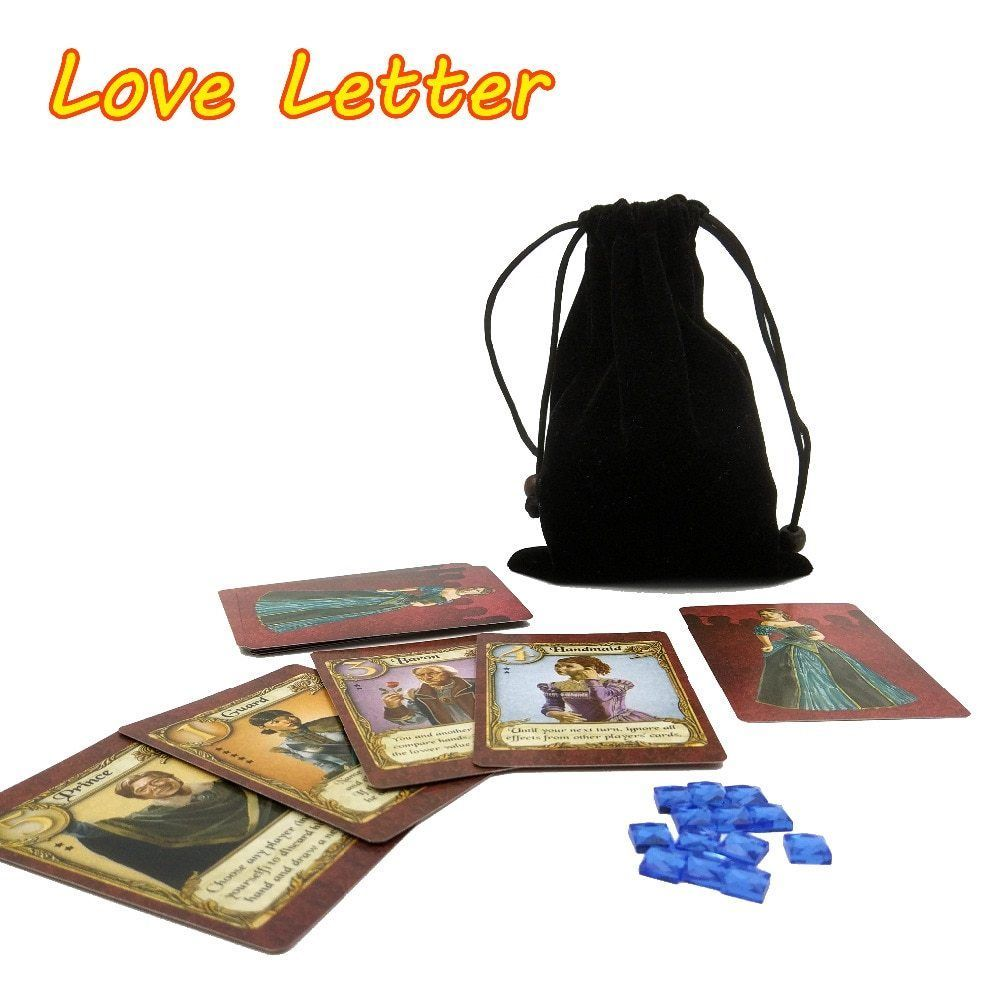 English Love Letter Board Game Best 2 To 4 Player Playing Cards