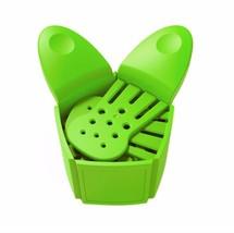 Silicone Colander Strainer Collapsible Clip Kitchen Filter Fruit Vegetab... - $9.29
