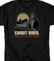 Knight Rider Retro 80s TV series Michael Knight graphic t-shirt NBC102 image 3