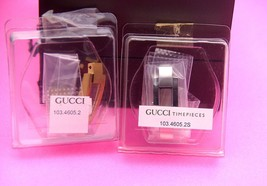 NIB Gucci Replacement Case Set - 4600 / 4605 - L - Gold and Silver Tone - NIB - $109.95+