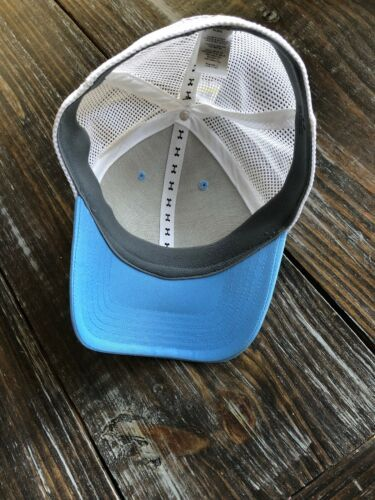 Under Armour Fish Hunter Trucker Hat in Carolina Blue Stretch Fit OSFA M/L image 8
