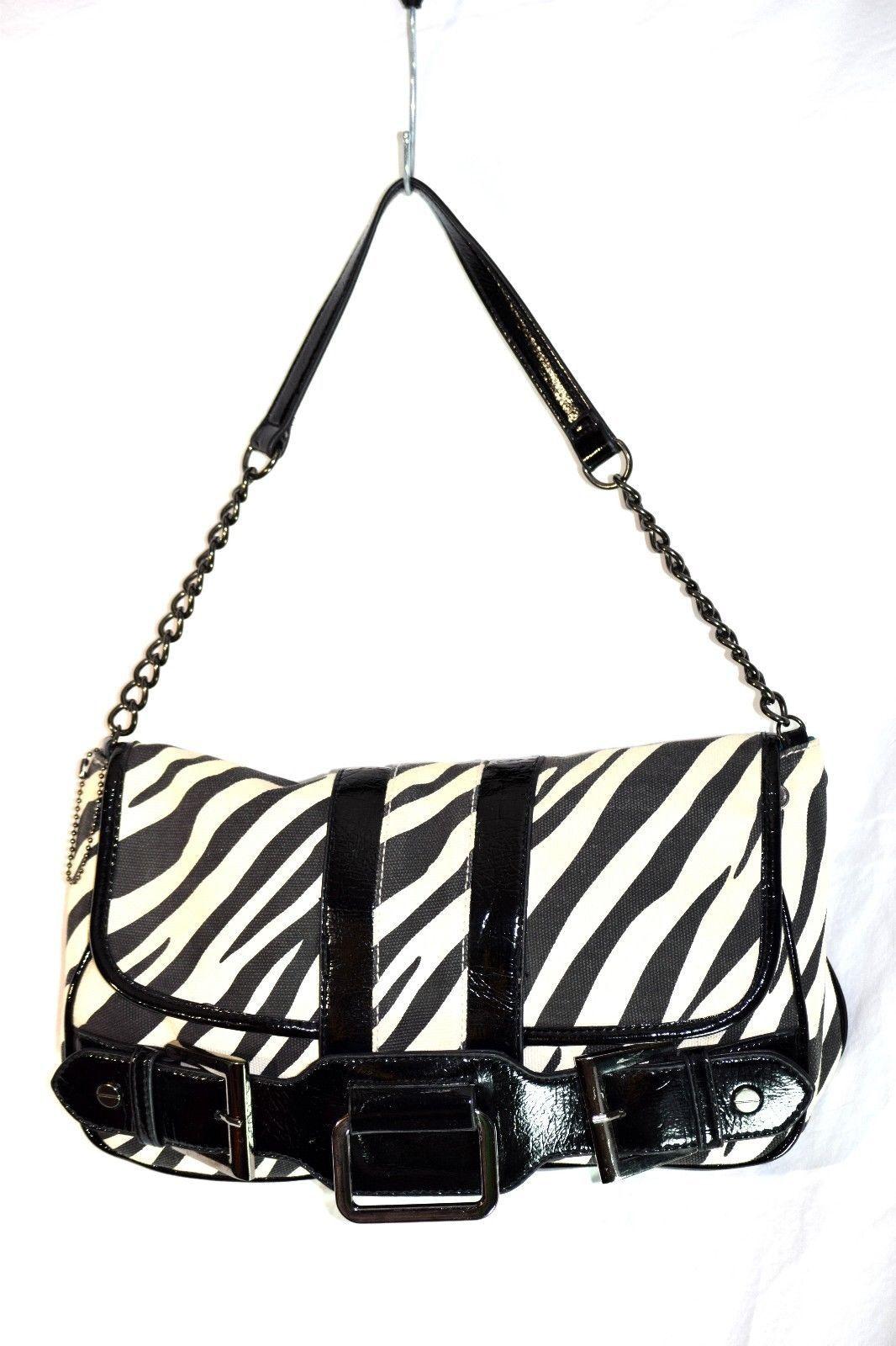 b7ced3a8e5 Steve Madden Zebra Print Purse Flap Top and 50 similar items