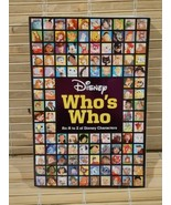 A Disney Who's Who by Disney Book Group (2017, Trade Paperback) - $12.82