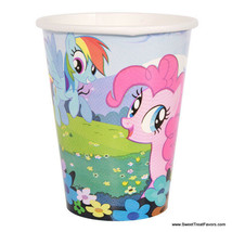 My Little Pony Party CUPS Supplies Decoration Birthday Pink Horse Girl F... - $8.86