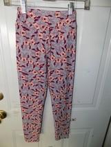 Lularoe Disney Minnie Mouse Gray Leggings Size Tween NWOT UNICORN - $26.40