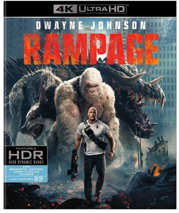 Rampage (4K Ultra HD+Blu-ray)