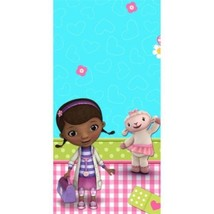 Doc McStuffins Lambie Stuffy Birthday Party Tablecloth Table Cover 54 x 96 - £5.77 GBP
