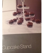 Crate and Barrel 3-Tier 24 Cupcake Stand Wedding Party Dessert Carrier D... - $19.75