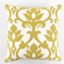 Mustard Floral Cotton Cushion Cover 45cmx45cm - £19.34 GBP