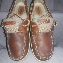 Women leather Sperry Top-Sider Billfish boat shoe. - size 10 M comfort. ... - $16.83