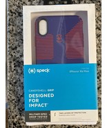 New Genuine Speck CandyShell Grip iPhone Xs Max Case Ultraviolet Purple/... - $11.87