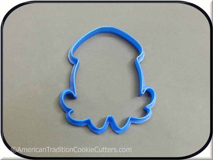 "4"" Squid 3D Printed Cookie Cutter"