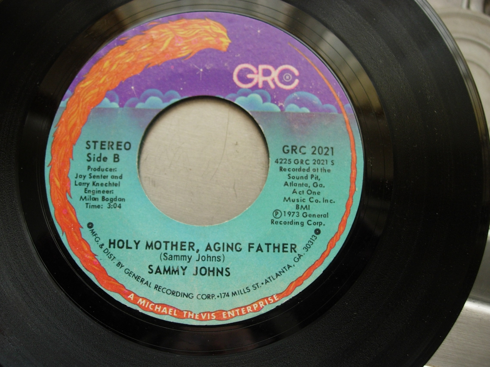 Sammy Johns - Early Morning Love / Holy Mother, Aging Father - GRC 2021