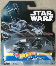 2016 HOT WHEELS STAR WARS CARSHIPS TIE FIGHTER DIECAST MOC 1:64 ROGUE - MIP - $8.95
