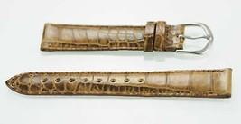 Fossil Unisex Acero Inoxidable Camel Textura Cuero Repuesto Reloj 18mm - $9.80