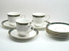 Lenox Kelly Debut Collection Tea Cups and Saucers Lot of 10 Pieces. - $18.14