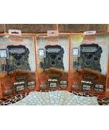 3 PACK  WILDGAME INNOVATIONS RIVAL 22 TRUBARK LOW GLOW TRAIL GAME CAM - $230.00