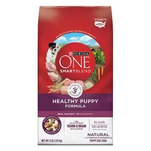 Purina ONE Natural Dry Puppy Food, SmartBlend Healthy Puppy Formula - 4 4 lb. Ba - $52.08