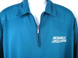 Men's Reebok Jacksonville Jaguars NFL Golf Polo Shirt Size XL Football Teal - $18.69