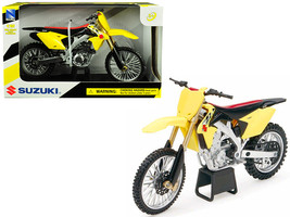 Suzuki RM-Z450 Yellow 1/12 Motorcycle Model by New Ray - $23.38