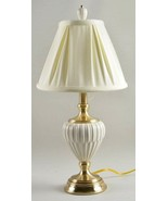 Lenox Butler's Pantry Porcelain Table Lamp with Shade Quoizel Ivory 22.5... - $260.00