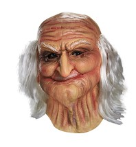 Disguise Men's Male Oldie Costume Mask, Beige/White, Adult - $22.53