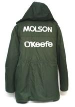 Vintage Molson O'keefe Canadian Beer Working Winter Coat Jacket Green X-... - $34.00