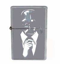 Classy Like Vader Rs1 Flip Top Oil Lighter Wind Resistant With Case - $12.82