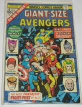 Giant-Size Avengers 1975 5 02922 68 Big Pages Marvel Comics Comic Book - $11.88