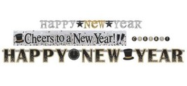New Years Eve Letter Banner Combo Pack 4 Ct - $13.29
