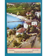 FRANCE French Riviera - 1940s Color Ink Blotter Print - $5.36