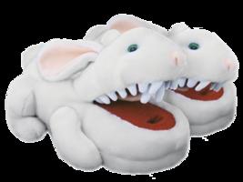 Monty Python Rabbit with Big Pointy Teeth Slippers  - $34.99