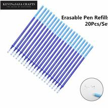 KEVIN&SASA® 20Pcs/Set Gel Pen Erasable Refill New Office Magic Erasable - $4.81