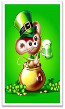 St. Patrick's Day Mouse Refrigerator Magnet - $1.99+