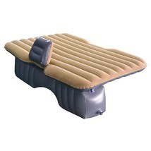 Inflatable Car Seat Bed Inflatable Mattress Outdoor Bed For Driving Tour... - $116.23