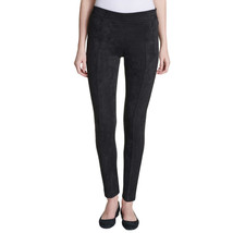 Andrew Marc Ladies Faux Suede Pull On Pant Black Large #820 - $19.99